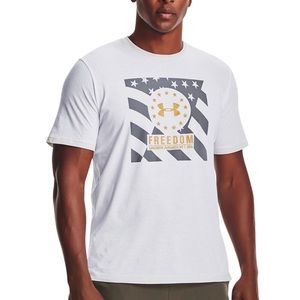 Under Armour Freedom USA Logo Graphic T-Shirt NEW